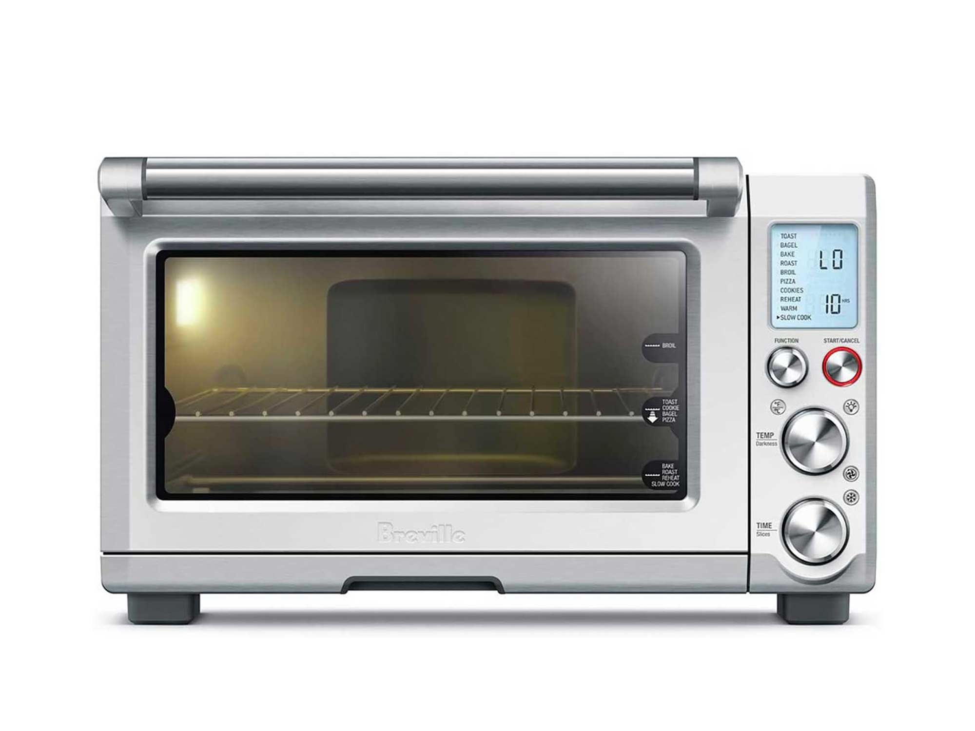 Breville Smart Oven Pro 1800 W Convection Toaster Oven with Element IQ, Brushed Stainless Steel
