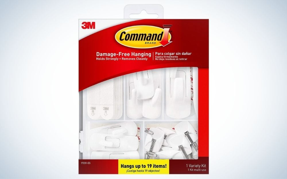 Command General Purpose Variety Kit is the best multi-size pack.