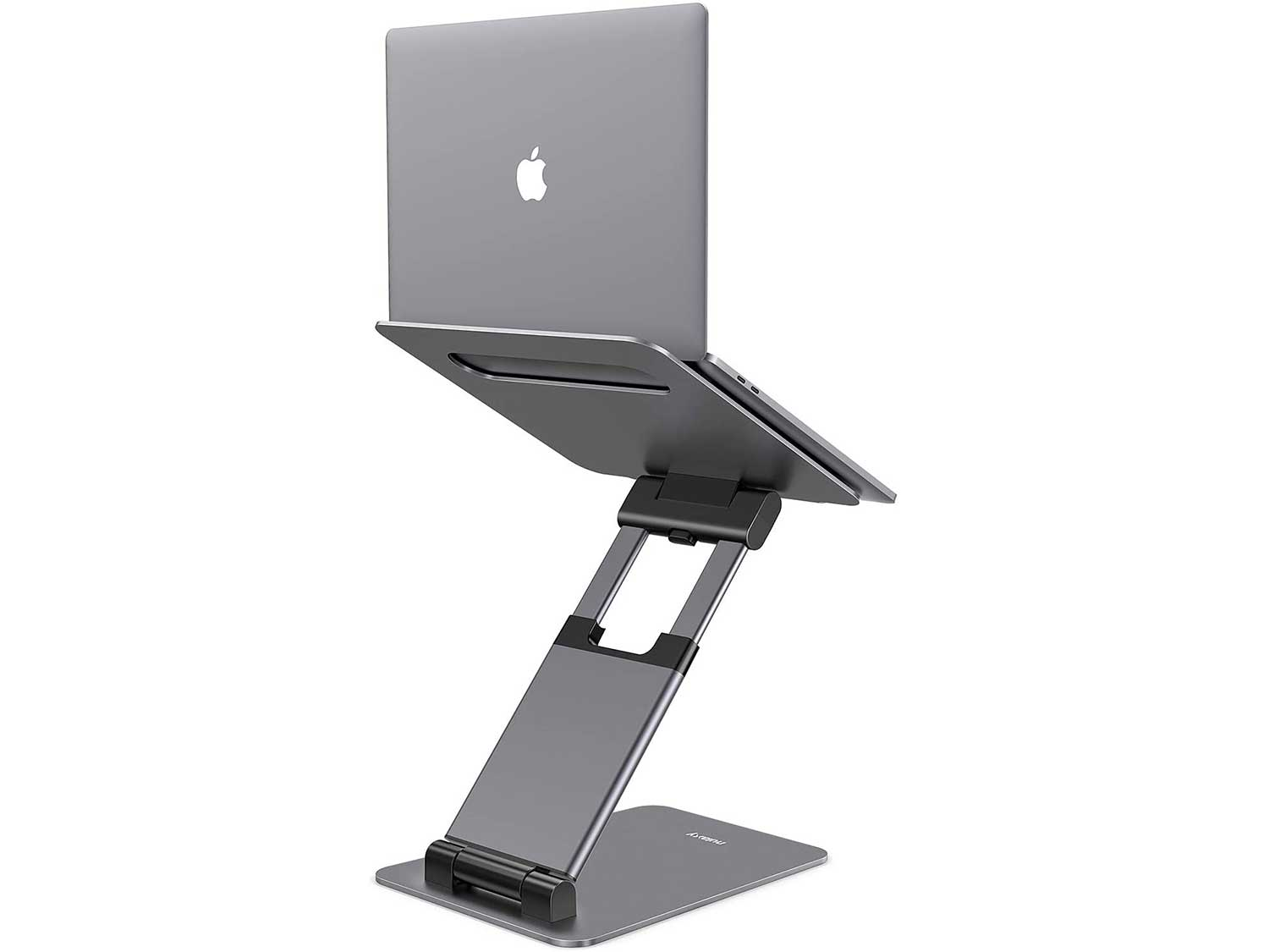 Nulaxy Laptop Stand, Ergonomic Sit to Stand Laptop Holder Convertor, Adjustable Height from 2.1