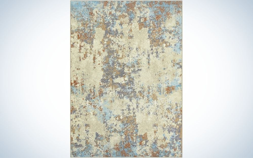 The Maples Rugs Southwestern Stone Distressed Abstract Area Rugs are the best value.