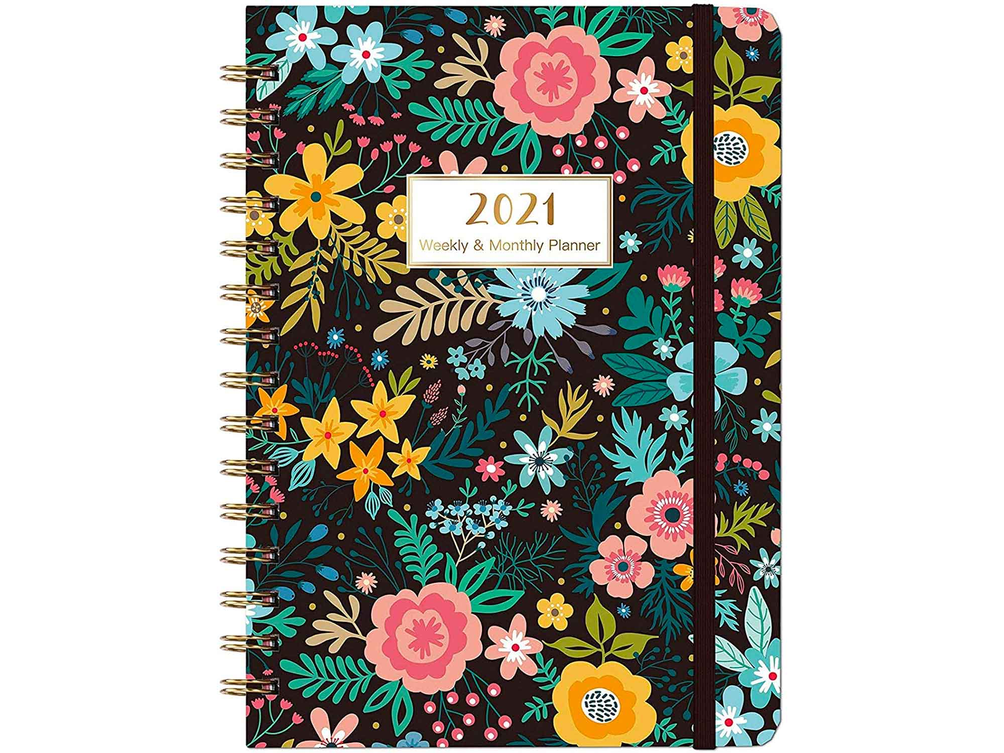2021 Planner - Weekly & Monthly Planner 2021 with Marked Tabs, Jan 2021 - Dec 2021, 8.5