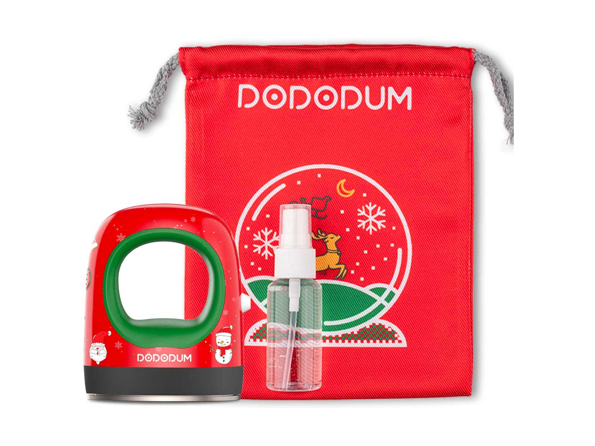 DODODUM EasyPress Mini Heat Press Machine for T Shirts Shoes Hats Small HTV Vinyl Projects Portable Mini Easy Press for Heating Transfer-Christmas