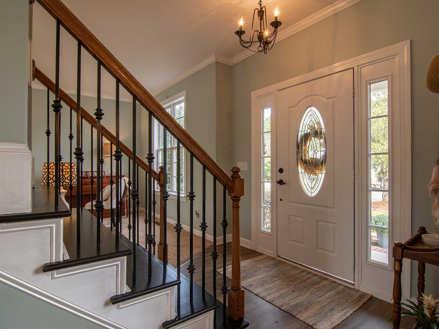 Entry way of a house