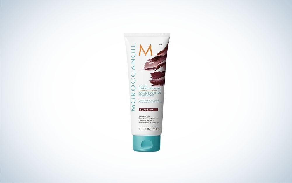 The Moroccanoil Color Depositing Mask is one of the best color shampoos overall.