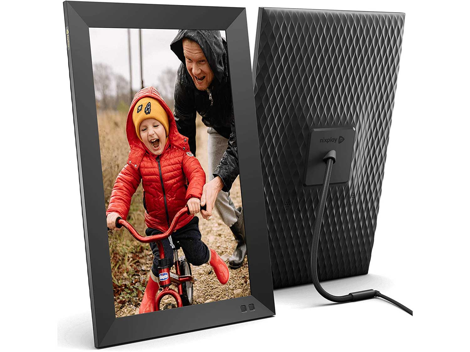 Nixplay Smart Digital Picture Frame 15.6 Inch, Share Video Clips and Photos Instantly via App or E-Mail