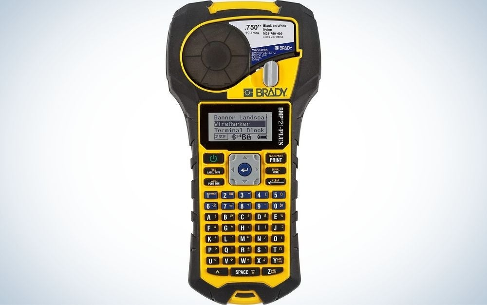 The Brady BMP21-PLUS Handheld Label Printer is the best for industrial use.