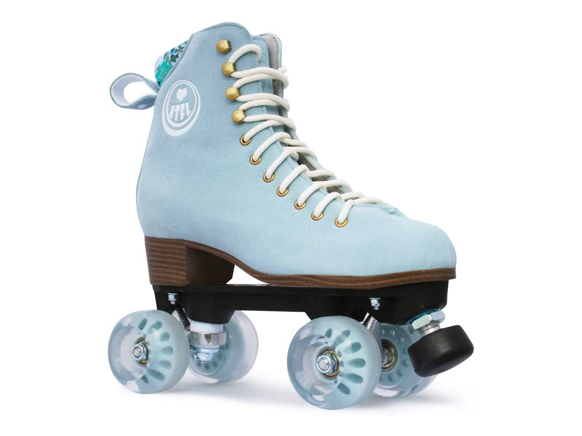 BTFL Pro Roller Skates for Women & Men with Height Adjustable stoppers - Ideal for Rink, Artistic and Rhythmic Skating