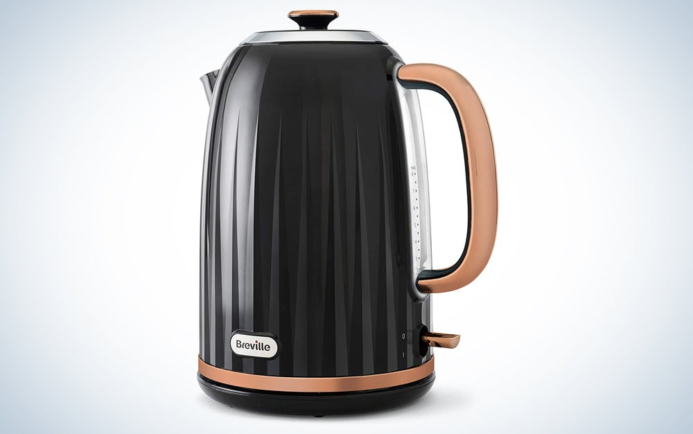 black and gold electric kettle