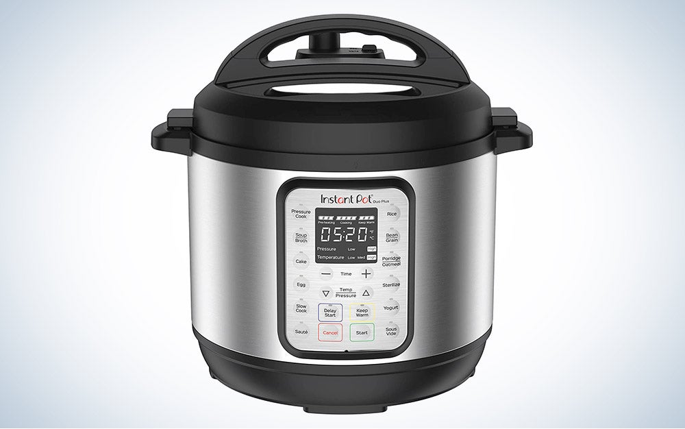 Instant Pot Duo Plus 9-in-1 Electric Pressure Cooker is best for big batch cooking.