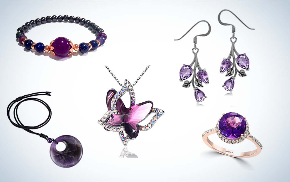 The best amethyst jewelry of 2021.