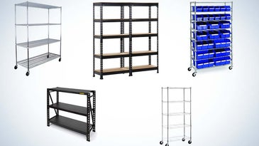 The best storage shelves of 2021.